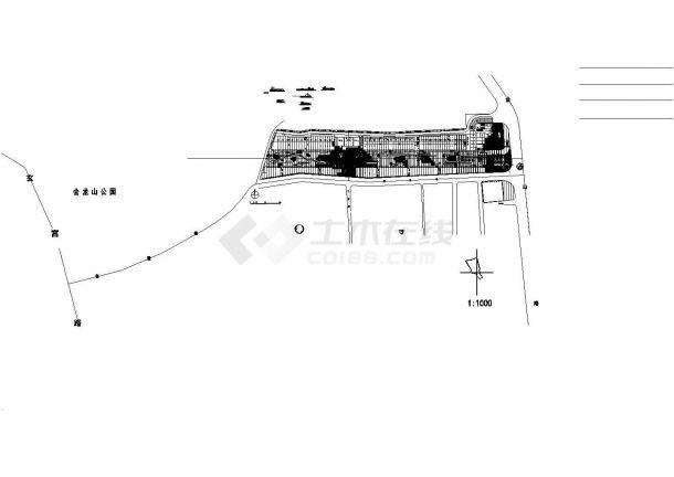 【园林景观设计】景观大道绿化设计图纸_cad-图二