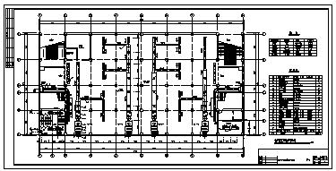 某五层带地下室中型商场中心大厦中央空调系统设计cad图纸-图二