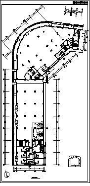 某十一层住宅综合楼舒适性空调及制冷系统设计cad图纸-图二