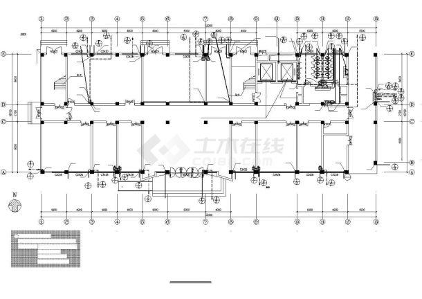 某地区7层医院综合楼给排水施工图-图二