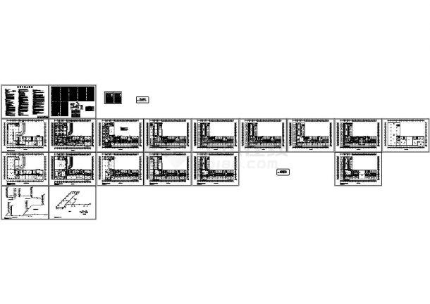 [内蒙古]酒店办公综合楼暖通空调设计施工图(含设计与施工说明)-图一