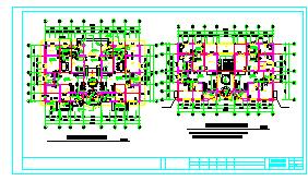 北方豪华三层别墅建筑设计CAD施工图-图二