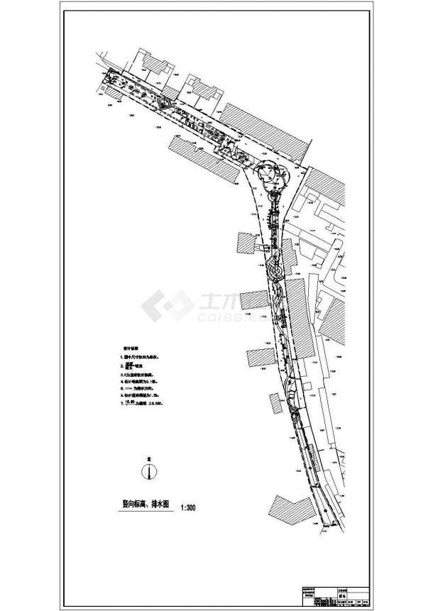 某社区公园景观绿化规划设计cad全套施工图-图一