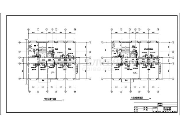 招待所空气源热泵暖通设计施工图-图一