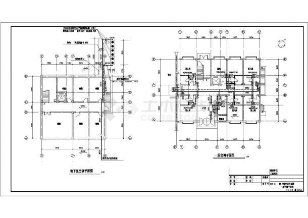 招待所空气源热泵暖通设计施工图-图二