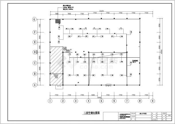 某陶瓷专卖店室内装修设计CAD详细施工图纸-图一