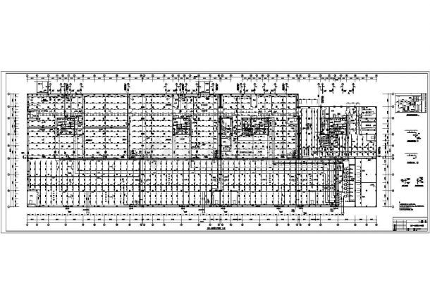 某高层商住两用建筑给排水施工图(含设计总说明及图例)-图二