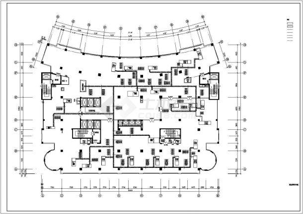 【最新】某医院洁净手术室空调系统设计CAD图纸-图二