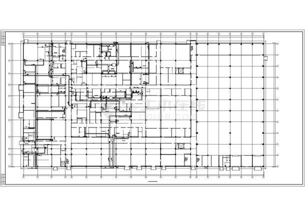 【最新】某制剂车间中央空调系统设计CAD图纸-图一