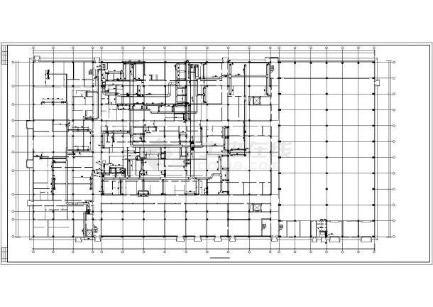 【最新】某制剂车间中央空调系统设计CAD图纸-图二