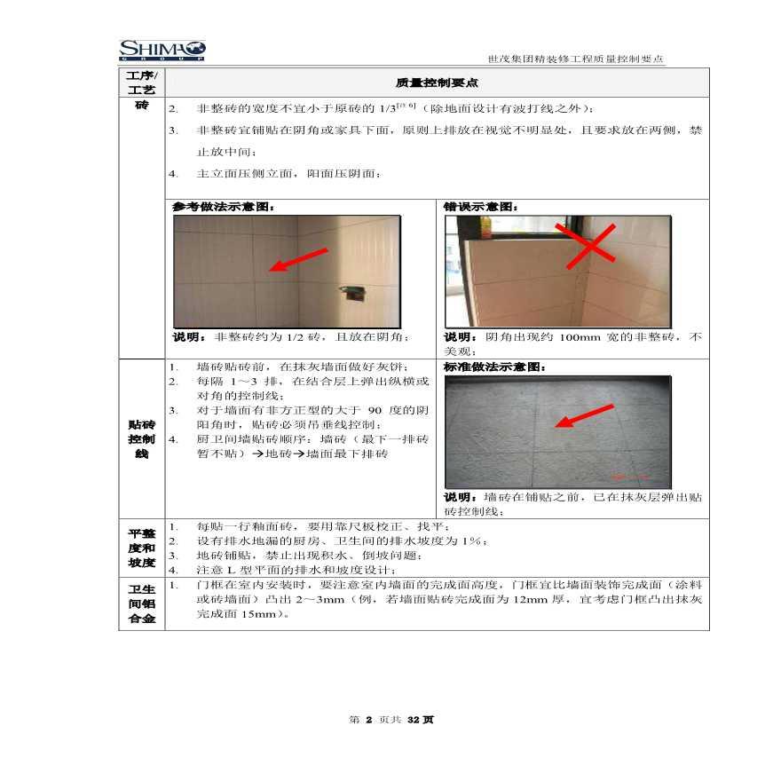精装修分项工程质量控制要点 (图文)-图二