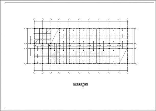 某五层框架结构教学楼建筑结构毕业设计-图一
