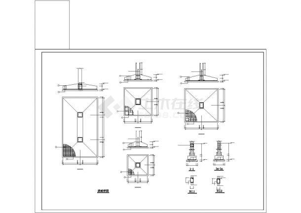 某五层框架结构教学楼建筑结构毕业设计-图二
