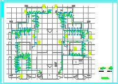 [施工图][河南]医院门诊医技大楼空调通风及防排烟系统设计施工图-图一