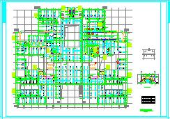 [施工图][河南]医院门诊医技大楼空调通风及防排烟系统设计施工图-图二