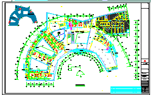 [施工图][江苏]多层疗养医院空调通风及防排烟系统设计施工图(机房设计)-图一