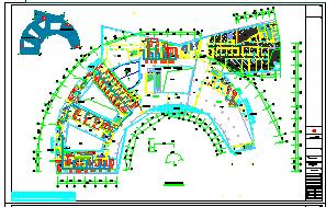 [施工图][江苏]多层疗养医院空调通风及防排烟系统设计施工图(机房设计)-图二