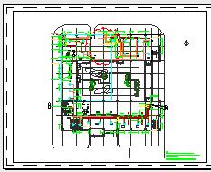 [施工图][上海]大型数据中心空调通风及防排烟系统设计施工图(大院设计)-图二