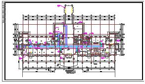 [施工图][上海]多层医院系列建筑采暖通风及防排烟系统设计施工图-图二