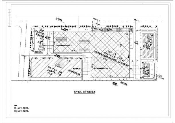 两栋钢结构厂房 电气 设计图纸-图一