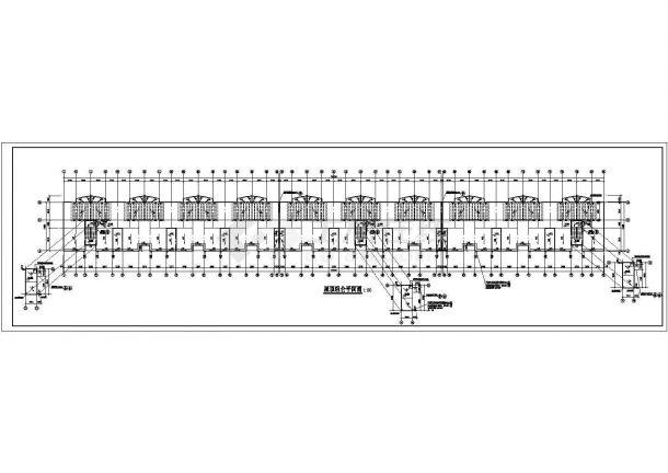 深圳市某新农村钢筋混凝土结构住宅楼方案设计CAD图(含构造法、建筑设计说明)-图一
