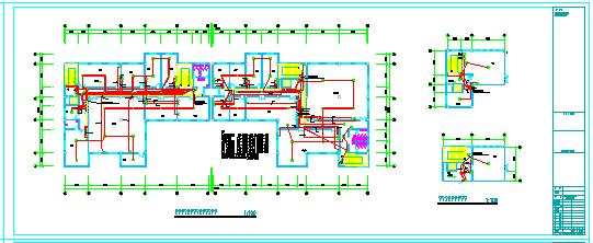 某省综合办公大楼电气施工CAD全套设计图纸-图一