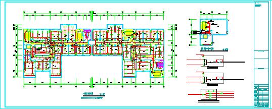 某省综合办公大楼电气施工CAD全套设计图纸-图二