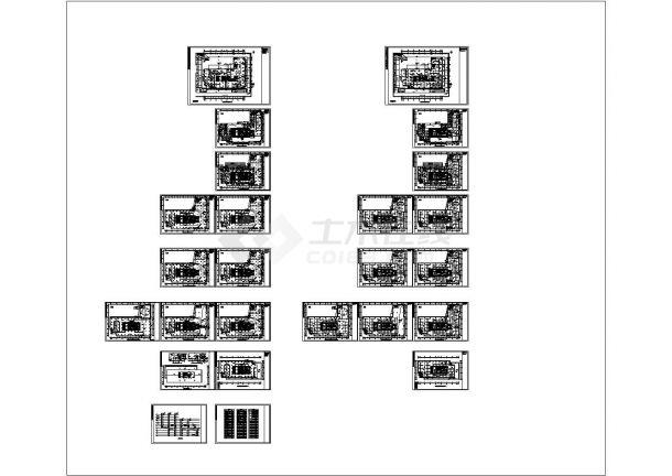[广东]高层科技办公楼空调通风及防排烟系统设计施工图(多联机系统)-图一