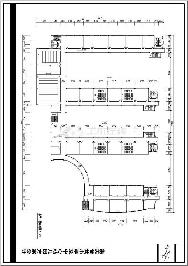 某地36班小学教学楼bob电竞app设计图纸-图二