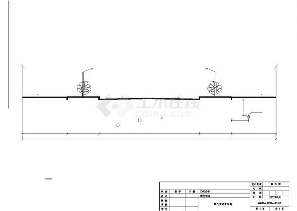 某市天然气城市气化工程中压管道全套施工图(含综合材料表)-图二