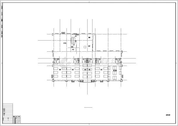 某住宅小区社区医院电气设计cad全套施工图纸62张(含设计说明,含建筑设计,含结构设计,含给排水设计)-图一