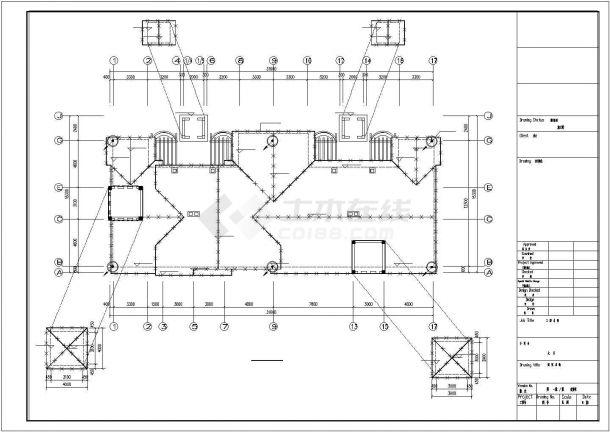 4层4户联排2户叠拼别墅电气施工图纸设计,含设计说明-图一