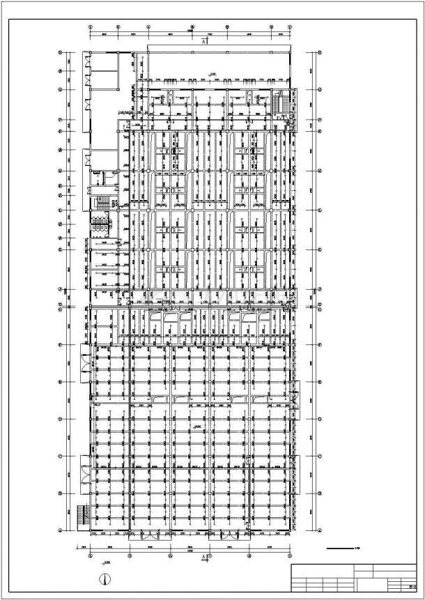 郑州市某工厂4层框架结构加工车间全套给排水和消防设计CAD图纸-图二