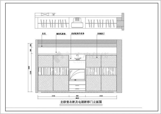 住宅设计_某地区花园小区设计施工CAD图-图一