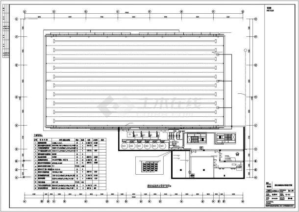 某大型健身中心游泳馆水处理设计施工方案CAD图纸-图二