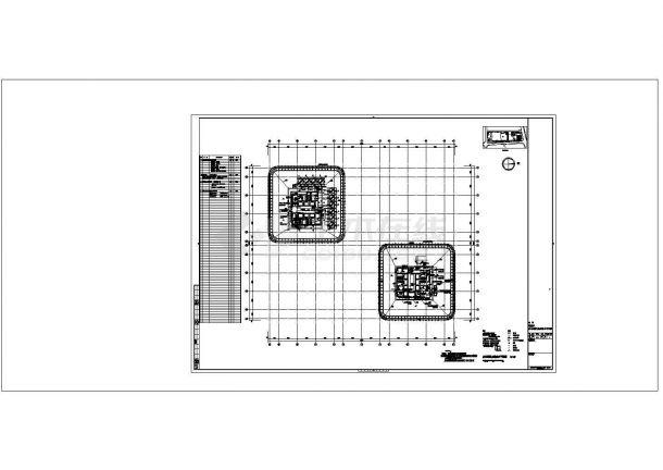 办公与会展中心强弱电系统全套cad设计施工图-图二