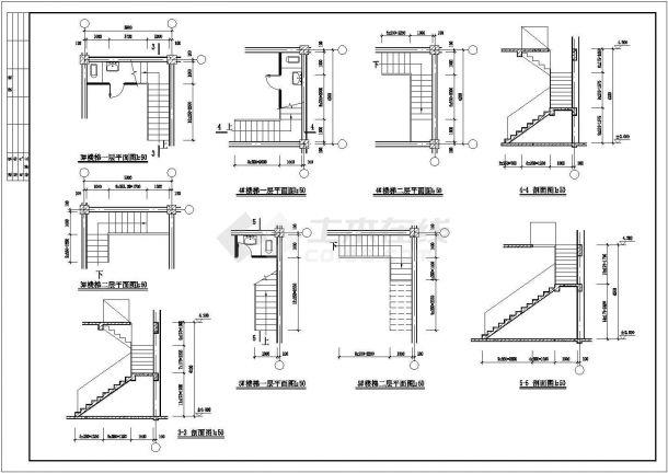 [桓仁]某仿古清式三层公建建筑全套施工图-图一