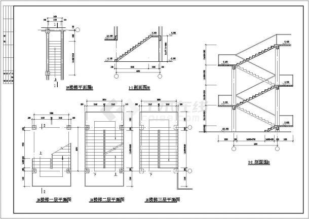 [桓仁]某仿古清式三层公建建筑全套施工图-图二