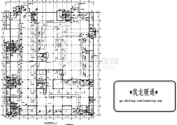 [河北]医院门诊综合楼暖通空调施工图-图一