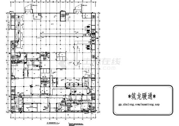 [河北]医院门诊综合楼暖通空调施工图-图二
