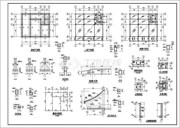 河北二层住宅别墅bob电竞app设计图纸-图二