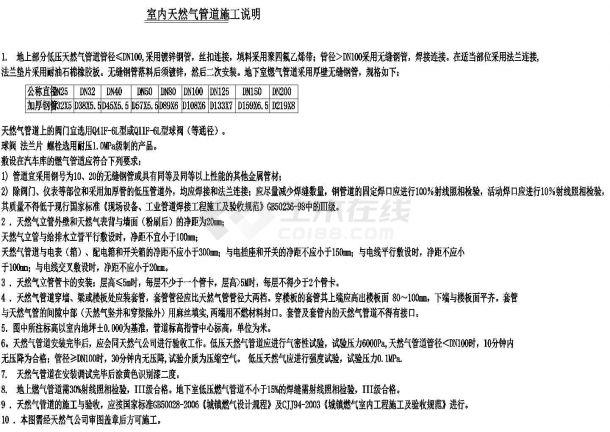 [北京]办公大厦暖通动力系统施工图(热力系统、燃油供应系统、燃气供应系统),含设计说明-图二