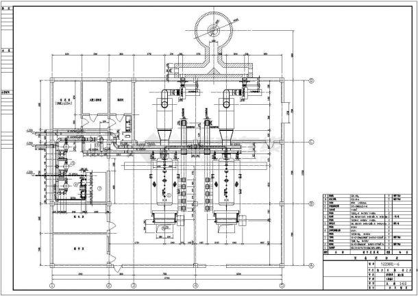 某县热力管网结构设计图纸-图一