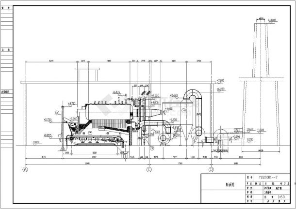 某县热力管网结构设计图纸-图二