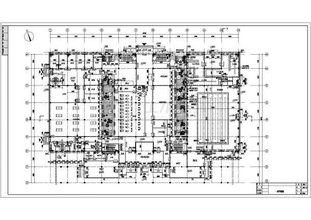 [安徽]大型体育场建筑全套施工图(含主馆、副馆和体育场)-图二