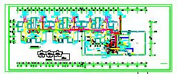 带地下综合泵房高层住宅给排水全套图纸(毕业设计参考)-图二