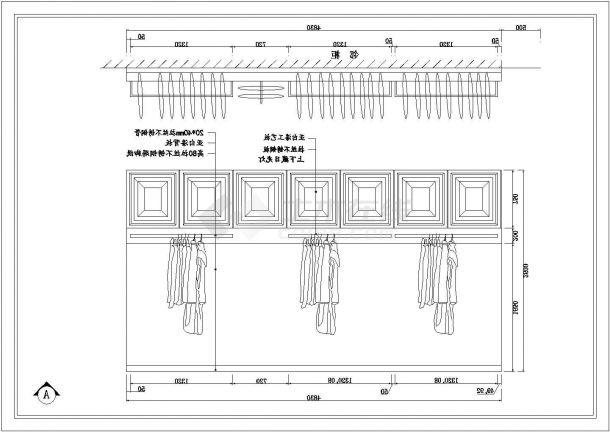 ECACA贵阳星力百货(中山3F店)&河南南阳店施工全套cad图纸-图一