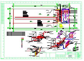 甲类仓库泡沫雨淋及喷淋消火栓泵房全套施工图纸-图二
