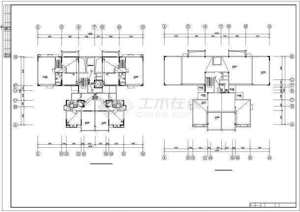 某高层住宅小区水电设计施工方案CAD图纸-图一