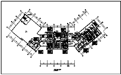 民宿暖通设计_某地上三层带地下一层民宿暖通施工cad图纸-图二